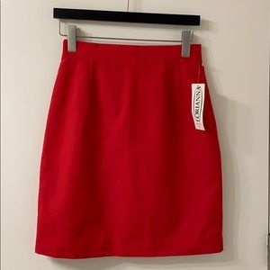 NWT LORIANNA red pencil skirt size 6